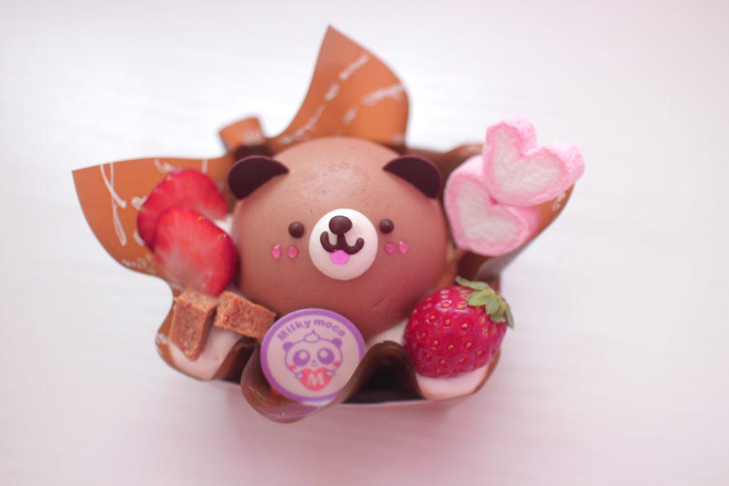 Milky Moco くまちゃんチョコケーキ
